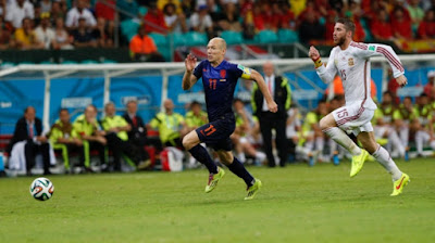 Pemain Sepakbola Tercepat di Dunia