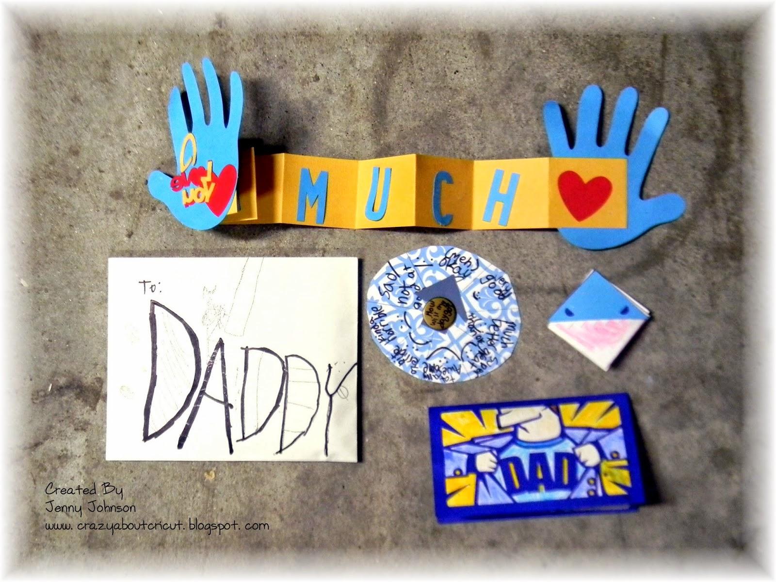 Crazy About Cricut Super Dad Blog Hop