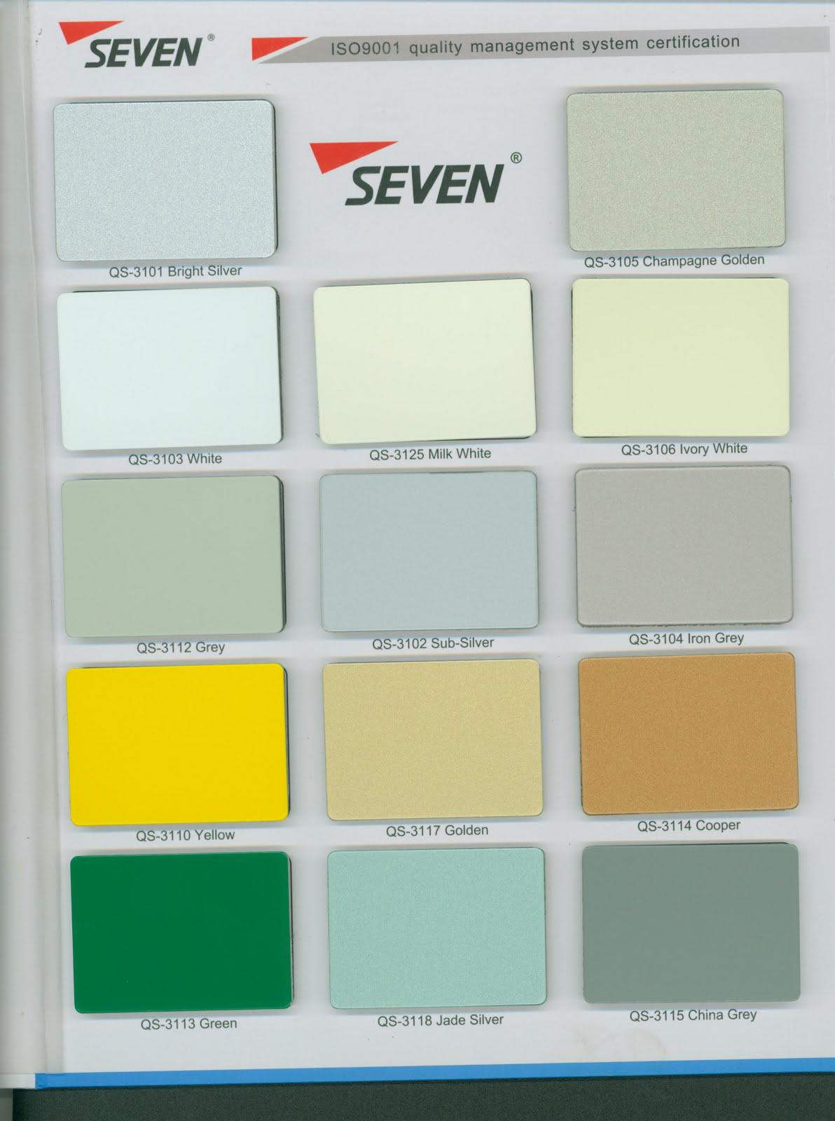Seven Aluminum Composite Panel Building Materials