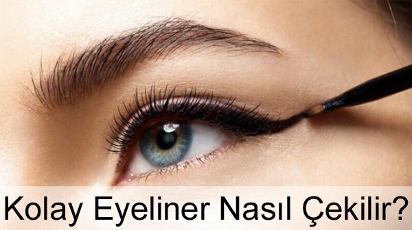 Kolay Eyeliner Nasıl Çekilir?