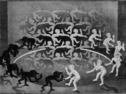 Encontro - Escher, M. C. e suas geniais litogravuras