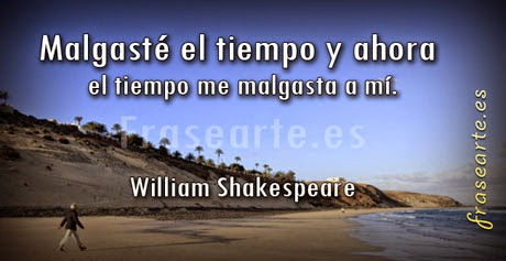 Frases famosas de William Shakespeare