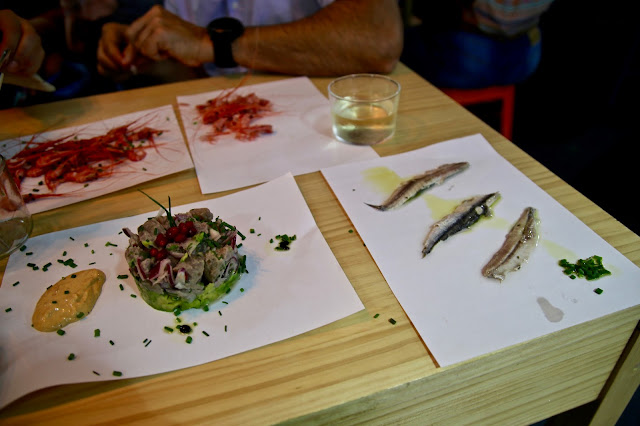 Bokanka restaurant at the fish market a tMercado Nuestra Señora de África market, Santa Cruz de Tenerife, pic: Kerstin Rodgers/msmarmitelover