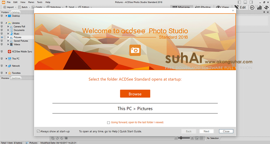 Free download software ACDSee Photo Studio Standard 2018 Final latest version terbaru gratis serial number patch keygen license key activation code update www.akangsuhar.com