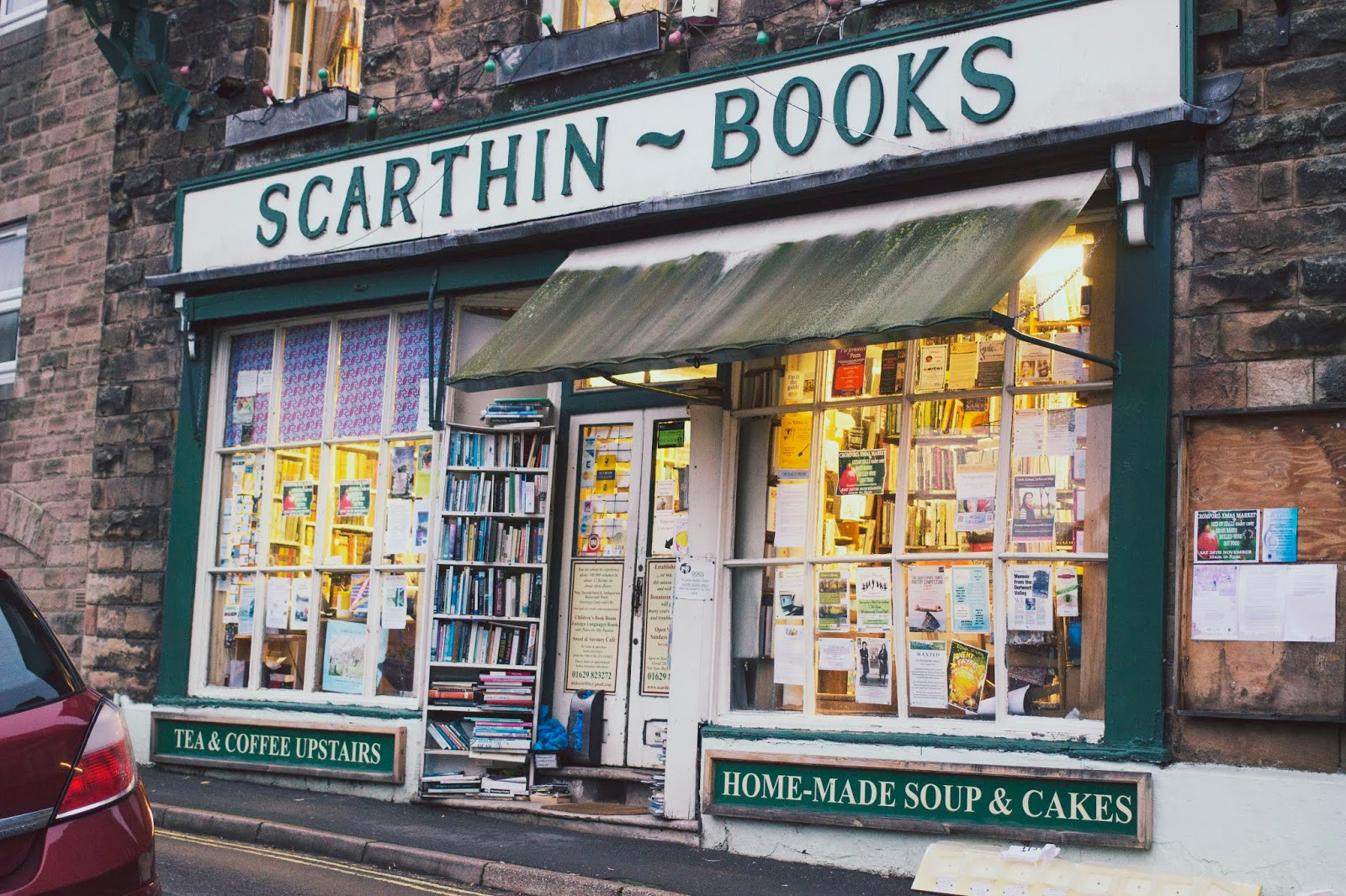 Scarthin Books, Derbyshire, Derbyshire Dales, Bookshops, Peak District, Derbyshire Delights, Blog,