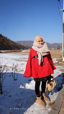salju di korea selatan