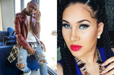 Davido and Caroline Danjuma