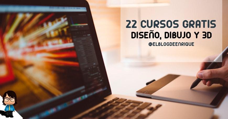 cursos gratis de diseño y dibujo online