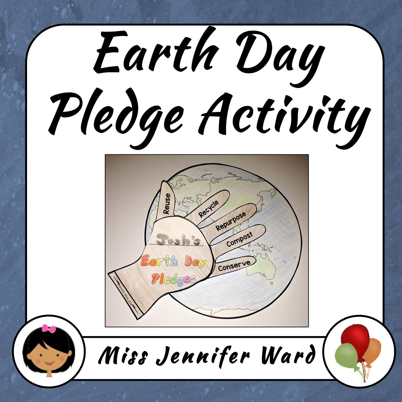 https://www.teacherspayteachers.com/Product/Earth-Day-Pledge-Activity-2467088