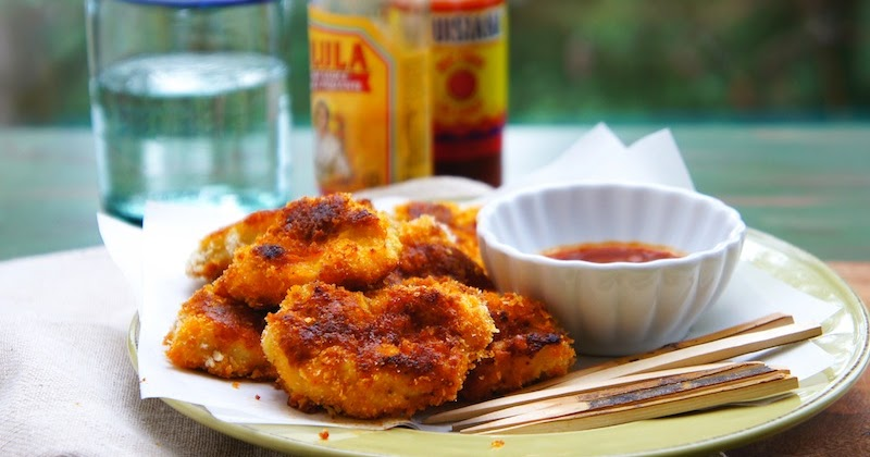 Seasaltwithfood Baked Buffalo Chicken Nuggets