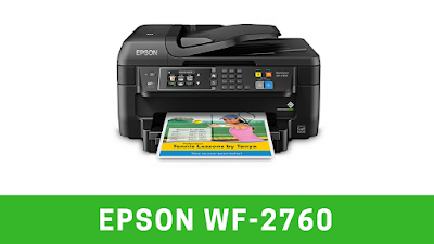 Epson WF-2760 Driver Download and Manual Setup