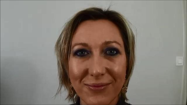 tutoriel makeup tuto maquillage de soirée yeux bleus verts