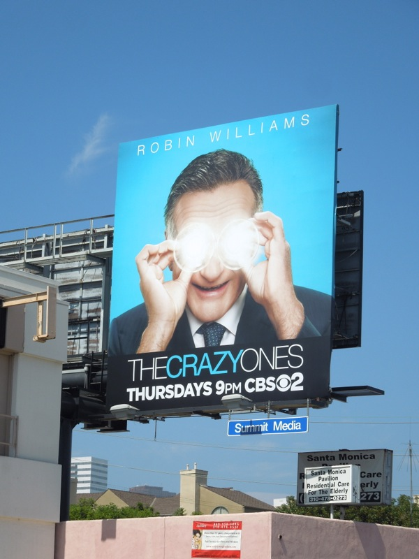 Crazy Ones Robin Williams billboard