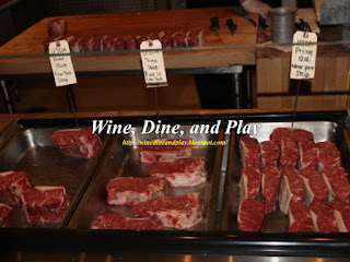 The Council Oak Steakhouse has a butcher shop attached to the restaurant and the Hard Rock Casino in Tampa, Florida