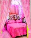 Dekorasi warna pink