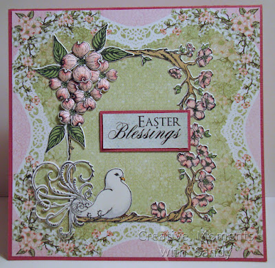 Heartfelt Creations Dogwood and Dove