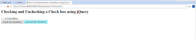 How to uncheck a checkbox using jQuery