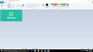 Crop Gambar Dengan Mudah Menggunakan Paint