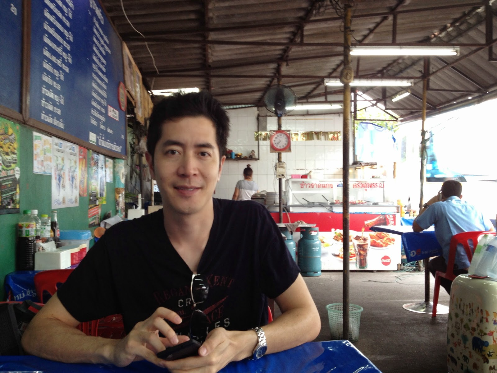 Chiang Mai - Who doesn't love outdoor dining?