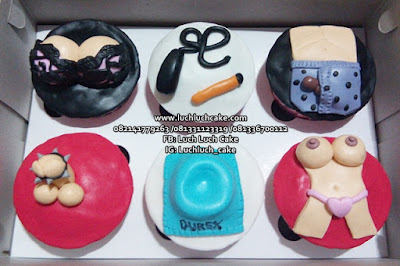 Cupcake Dewasa 18+ Surabaya - Sidoarjo