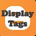 Blogger 게시물에 설정된 태그 표시하기