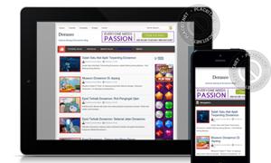 Download Template Blogger Simplecips V2 Responsive