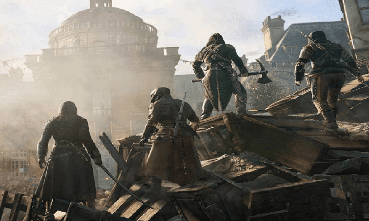 تحميل لعبة Assassin's Creed Unity مضغوطة