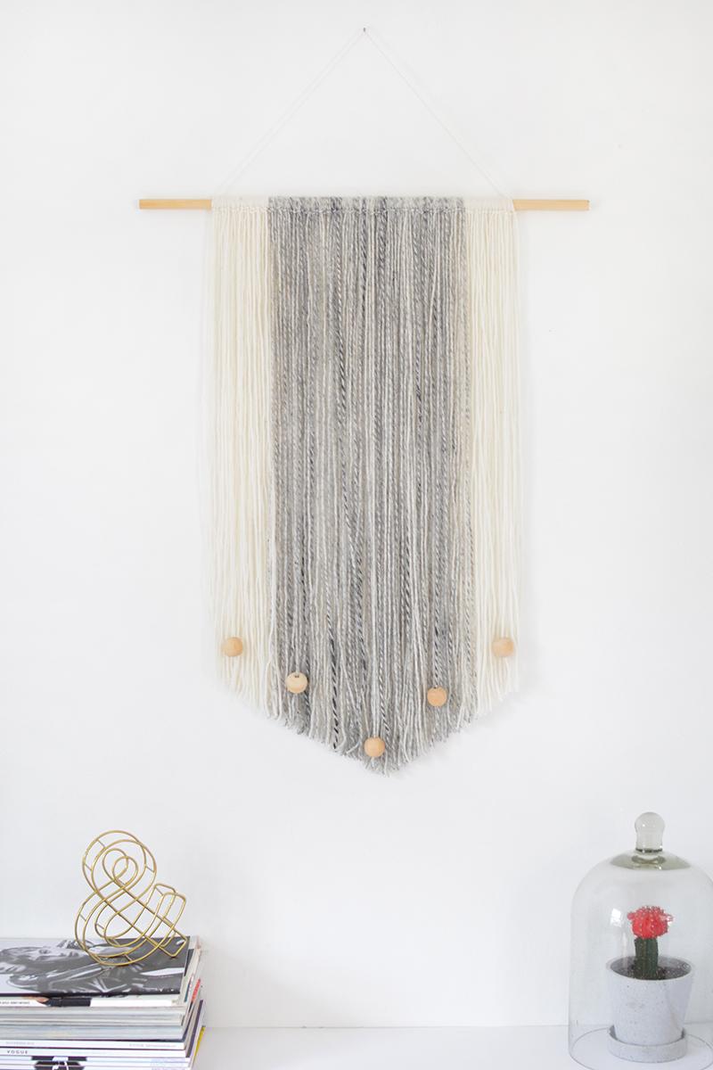 Diy Yarn Wall Hanging Burkatron