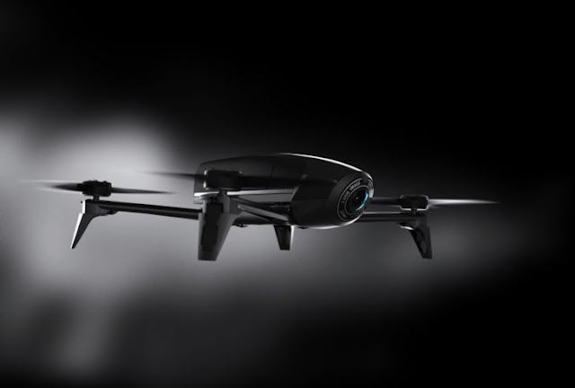 The French drone society has forthwith unveiled the Parrot Bebop  Parrot Bebop 2 Power Review - What's The Difference