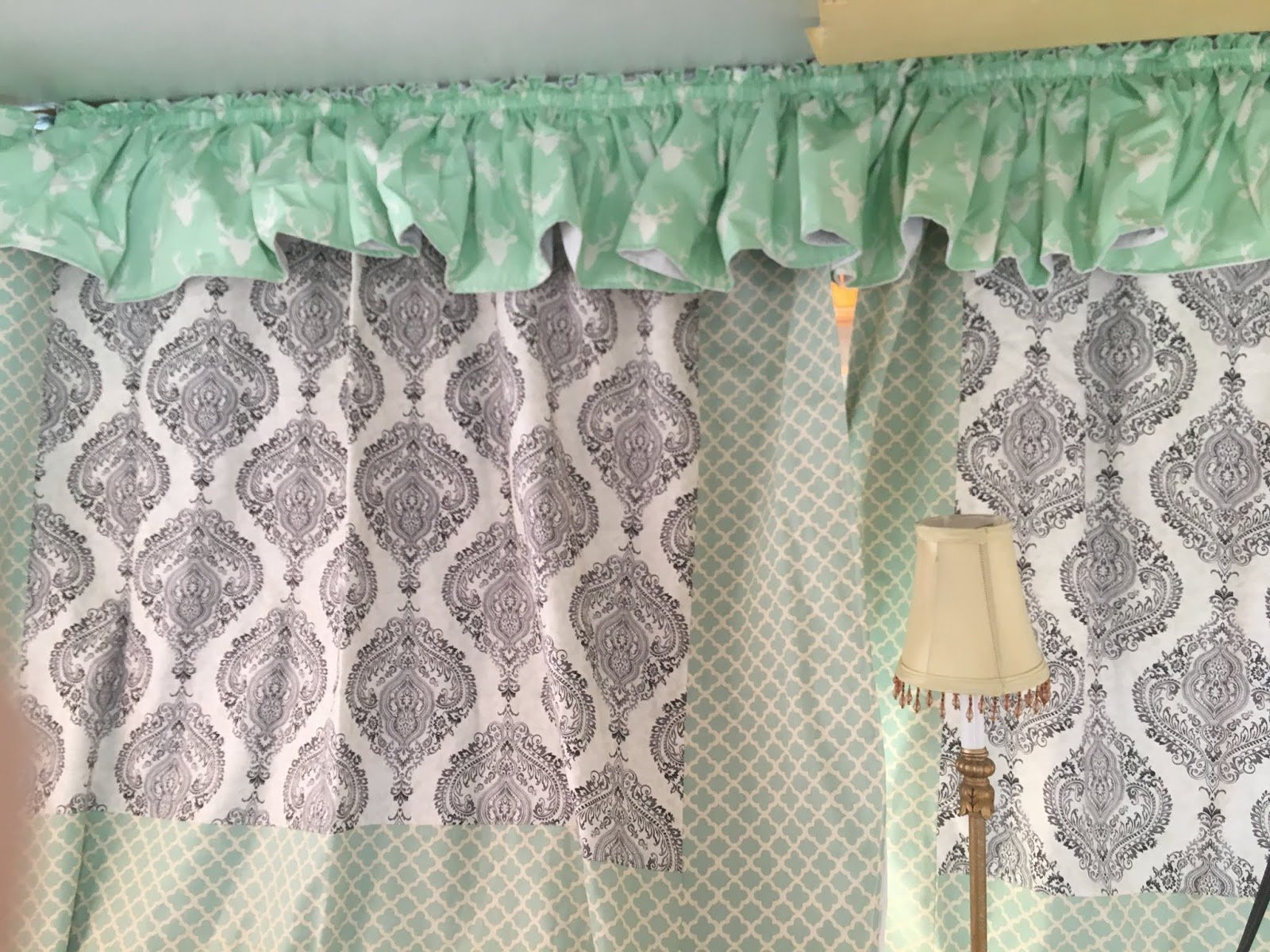 The Southern Glamper: How to Make Pop Up Camper Curtains, Part 1