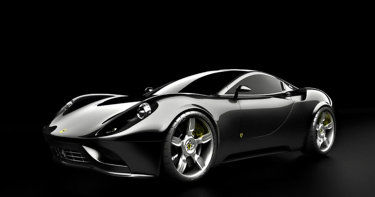Fondos De Pantalla Coches: Fondo De Pantalla Coches Ferrari Negro