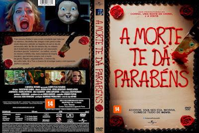 Filme A Morte Te Dá Parabéns (Happy Death Day) DVD Capa