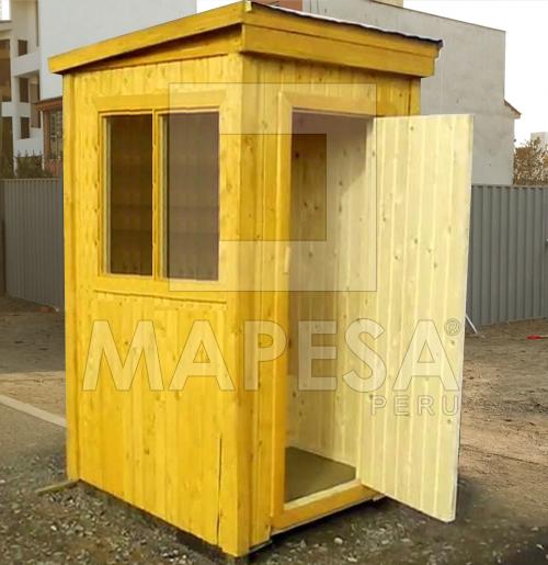 Mapesa peru sac caseta de vigilancia seguridad en lima - Caseta prefabricada madera ...