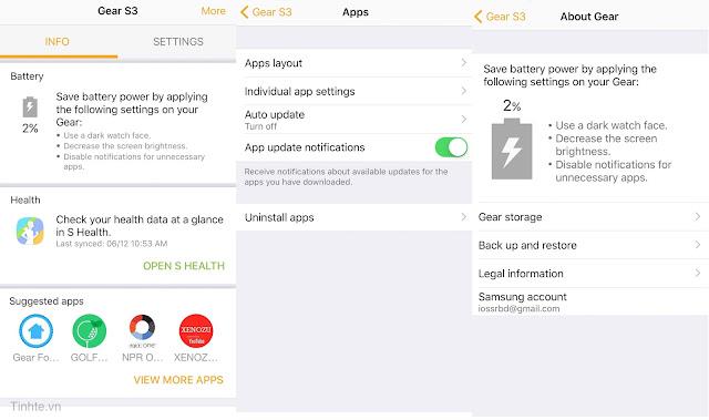 Samsung chính thức mang ứng dụng đồng hồ thông minh của mình lên iPhone
