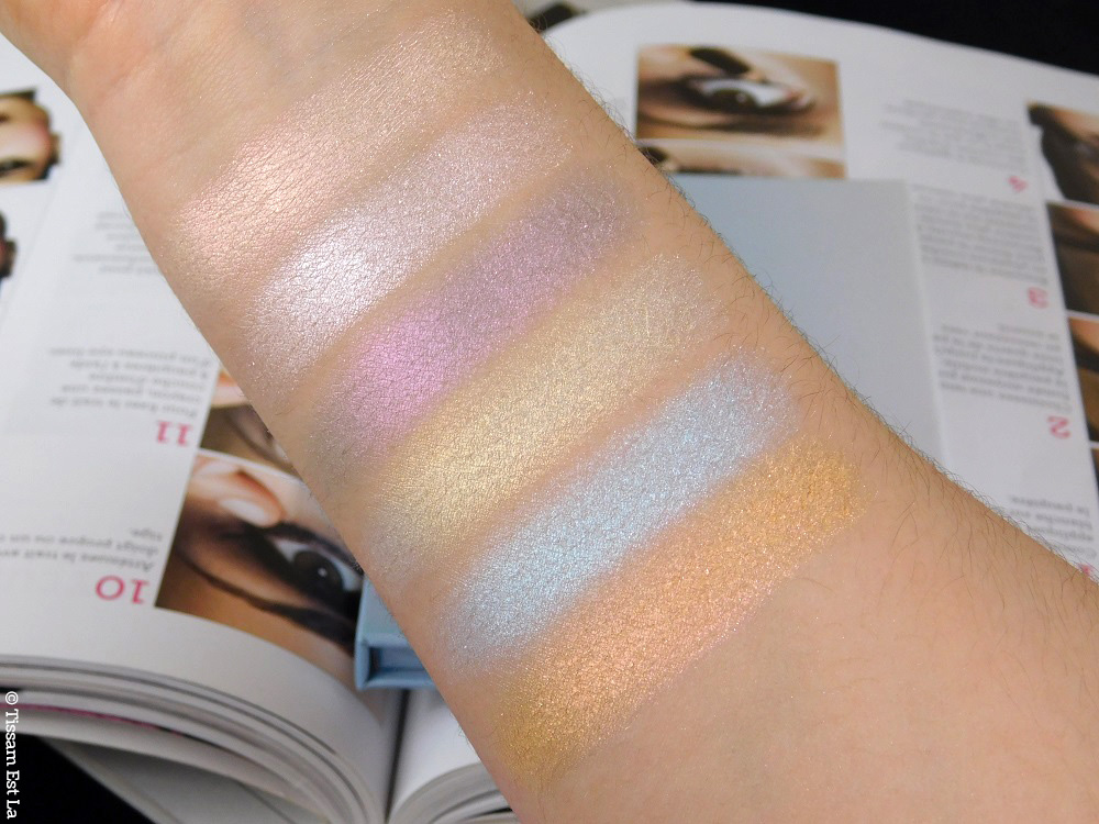 Anastasia Beverly Hills - Aurora Glow Kit - Highlighting Palette - Palette de Highlighters - Aurora Palette - Palette Aurora - ABH - ABH Aurora Glow Kit - Duochrome Highlighters