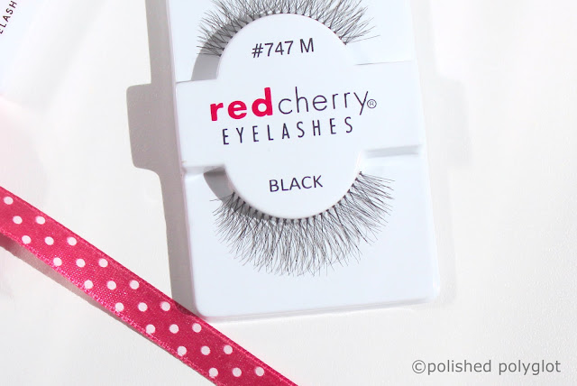 Red Cherry Eyelashes and Latex-free glue Review