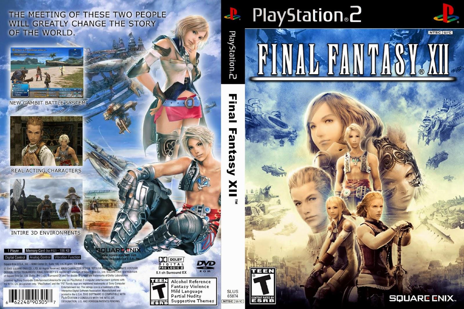 Final Fantasy 12 cover