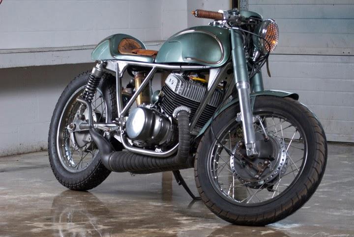 j & b moto co suzuki t500 ~ return of the cafe racers
