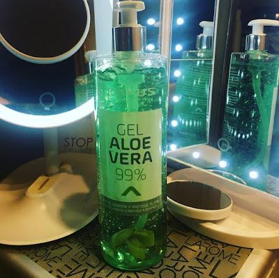 Gel Aloe Vera de Kefus.