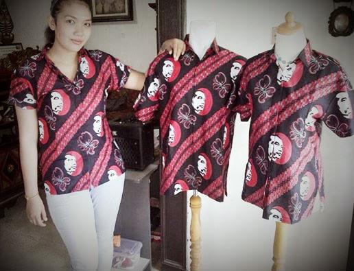 Seragam Batik Solo kalinggo Batik Seragam Batik Printing jokowi