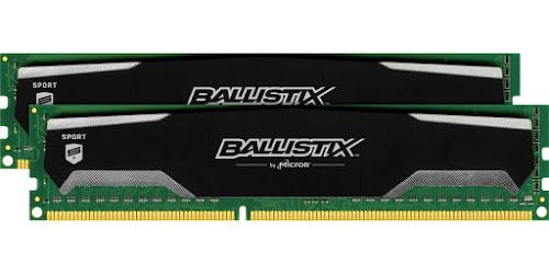 Ballistix Sport 8GBx2 DDR3