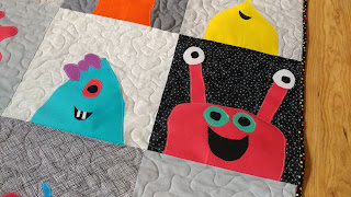 Monster blocks made by kids in our local 4-H club