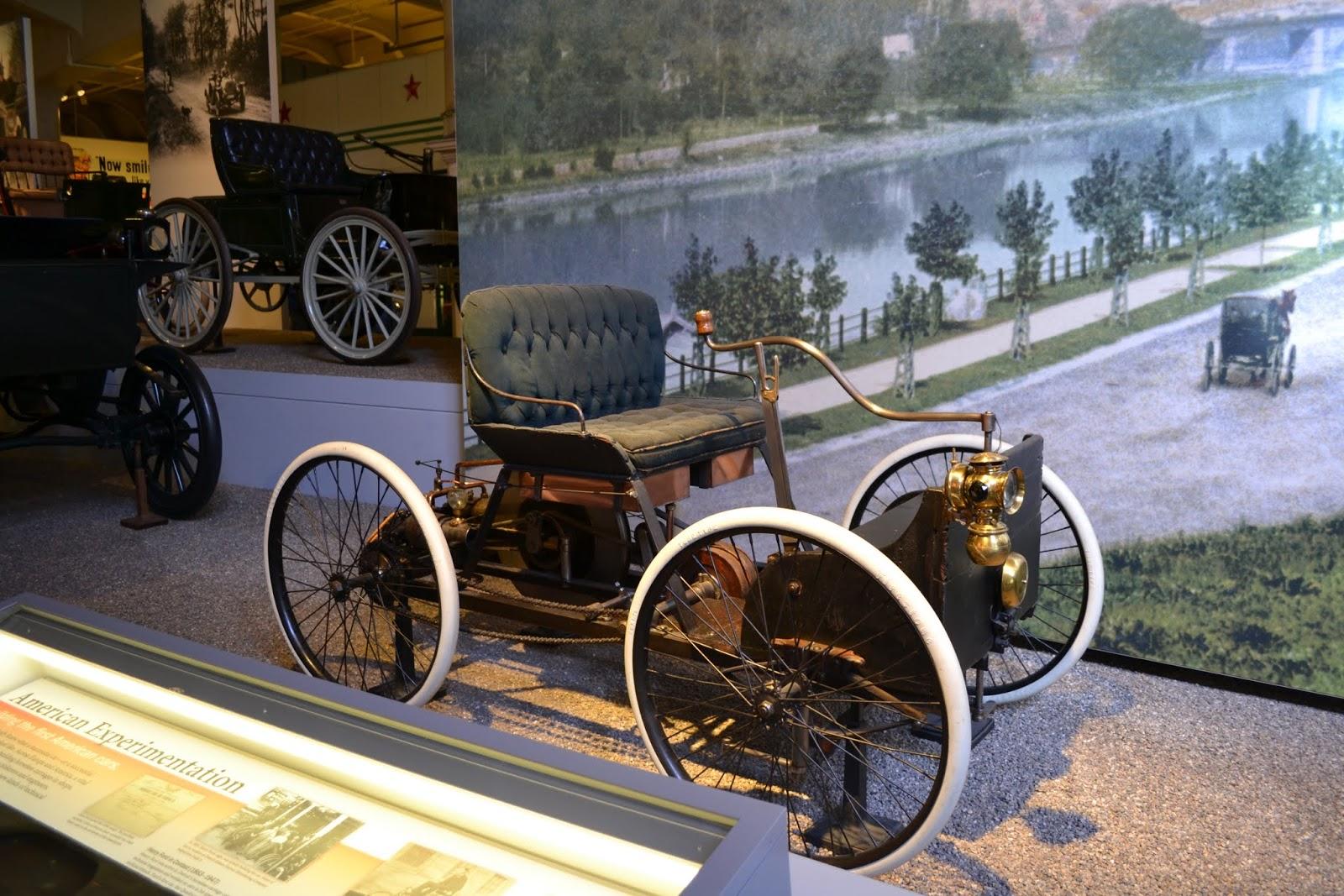 Ford Quadricycle 1896 года. Музей Генри Форда. Дирборн, Мичиган (Henry Ford Museum, Dearborn, MI)