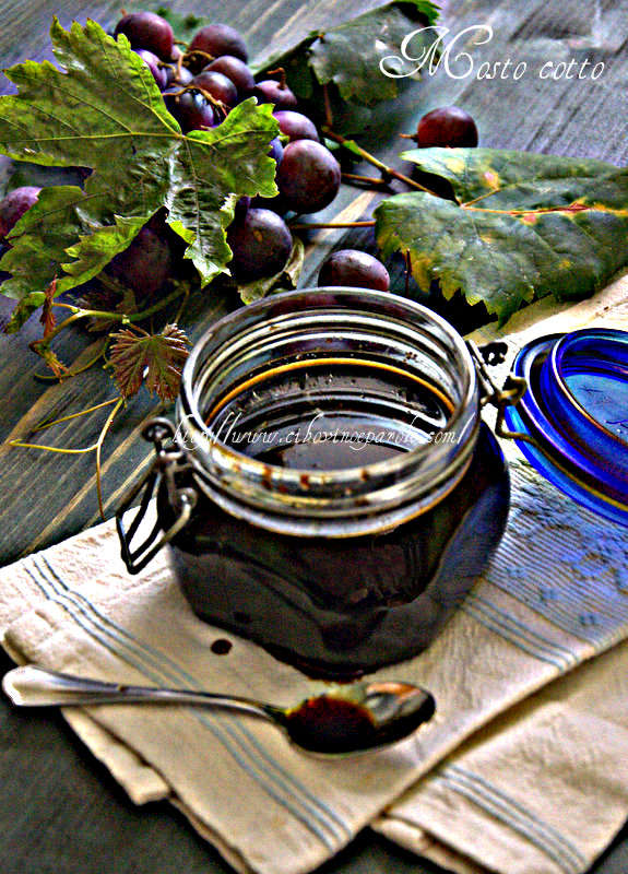 Mosto cotto d'uva -Grape Molasses