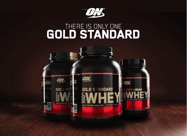 Optimum Nutrition 100% Whey Breaks Through!
