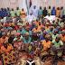 President Buhari Meets Chibok Girls, Leaves For Medical Trip