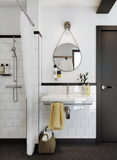 How Should I Finish Off My Subway Tile Leaning Toward Black Bullnose Just So Don T Have To Try And Match Whites