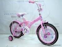 3 Sepeda Anak Family Daisy 16 Inci