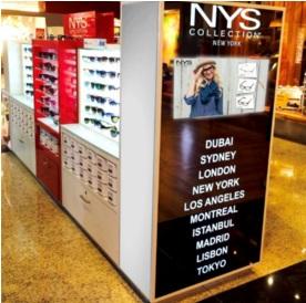 NYS Collection aposta em aeroportos para vendas de fim de ano
