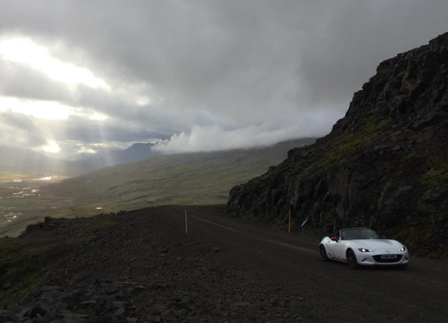 Mazda MX-5 Icon driven 828 miles around the Ring of Iceland